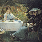 In the Garden, French artists