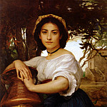 Diogene Ulysse Napoleon Maillart Young Roman Water Carrier Large, French artists