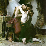 French artists - Doucet Lucien Reunion of Odysseus and Telemachus