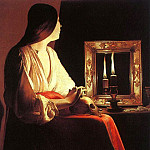 French artists - Tour, Georges de La (French, 1593-1652) latour2