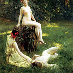 Stewart Julius LeBlanc The Glade, French artists