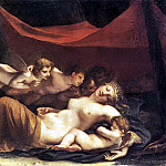 French artists - MAYER Marie Constance The Sleep of Venus and Cupid