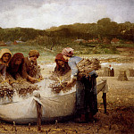 French artists - Laugee Desire Francois The Poppy Harvest