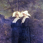 French artists - Gautier Armand Nuns