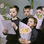 French artists - Geo (Henri - Jules - Jean Geoffroy, French, 1853-1924)