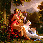 French artists - Ducis Louis Orphee Et Euridice