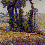 French artists - Dewhurst Wynford Summer Landscape Provence