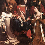 French artists - FRANCOIS Guy Holy Family St Bruno