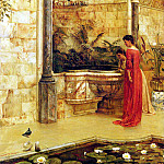 Taylor Edward R Elegant Ladies By A Fountain, French artists