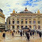 French artists - Boggs Frank Myers Grand Opera House Paris