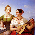 Schimon Ferdinand The Lute Player, French artists