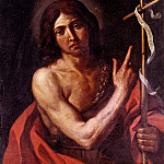 French artists - Barbieri Giovanni Francesco Saint John The Baptist