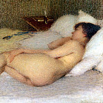 French artists - Laurent Ernest Joseph Femme Nue