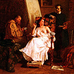 French artists - Antingna Alexandre Scene D - Atelier