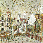 French artists - Utrillo, Maurice (French, 1883-1955)
