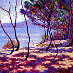 French artists - Bailleul Edmond Paysage Mediterranean