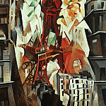 French artists - Delaunay, Robert (French, 1885-1941)