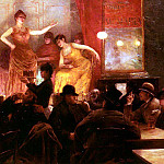 Fichefet Georges Au Cafe Theatre, French artists