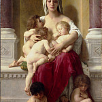 French artists - Adolphe-William Bouguereau - Charity