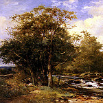 Bates David Resting Beside A River, French artists