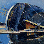 French artists - Boggs Frank Myers The Ship Builders
