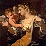 French artists - Pasinelli Lorenzo A Sybil Inspired By A Putto The Budrioli Sybil