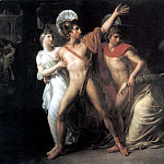 Castor and Polux Delivering Helen, French artists