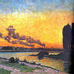 French artists - Guillaumin, J B Armand (French, 1841-1927)