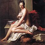 French artists - SANTERRE Jean Baptiste Susanna At The Bath