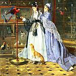 Lassalle Camille Cabaillot At The Birdsellers, French artists