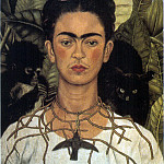 Frida Kahlo - Self-Portrait (3)