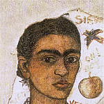 Frida Kahlo - Self-Portrait very ugly
