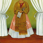 Frida Kahlo - Self-Portrait (Dedicated to Leon Trotsky) (1)