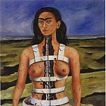 Frida Kahlo - The Broken Column (2)