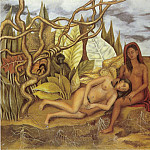 Frida Kahlo - Two Nudes In The Forest (3)