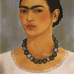 Frida Kahlo - Autoportrait au collier