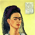 Frida Kahlo - Self-Portrait (III)