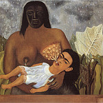 Frida Kahlo - My Nurse and I