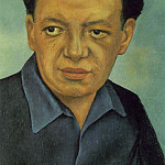 937 Portrait of Diego Rivera (), Diego Rivera