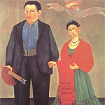 Frida Kahlo - Frida and Diego Rivera