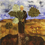 Frida Kahlo - 1931 Portrait Of Luther Burbank