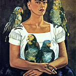 Frida Kahlo - Me and My Parrots