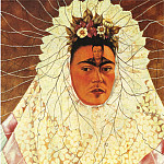 Frida Kahlo - Self-Portrait as a Tehuana (Diego on My Mind)