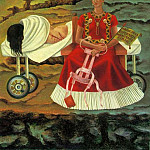 Frida Kahlo - Self-Portrait (IV)