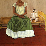 Frida Kahlo - Me and My Doll