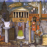 Frida Kahlo - My Dress Hangs There (2)