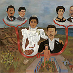 Frida Kahlo - My Grandparents, My Parents, and I