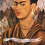 Frida Kahlo - Self-Portrait (II)