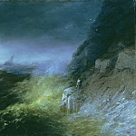 Storm on the Black Sea in 1875 64,5 h95, Ivan Konstantinovich Aivazovsky