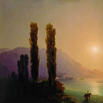 Sunrise off the coast of Yalta, Ivan Konstantinovich Aivazovsky